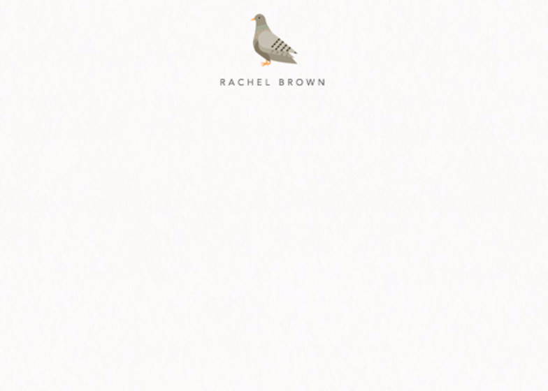 Pigeon | Personalised Stationery Set