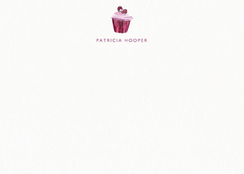 Cupcake | Personalised Stationery Set