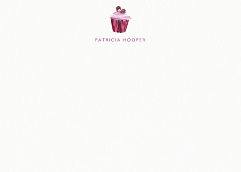 Cupcake | Personalised Stationery Set