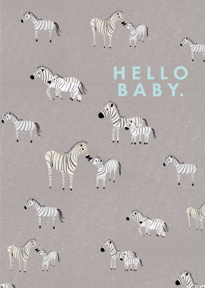 Zebra Moments | Personalised Congratulations Card