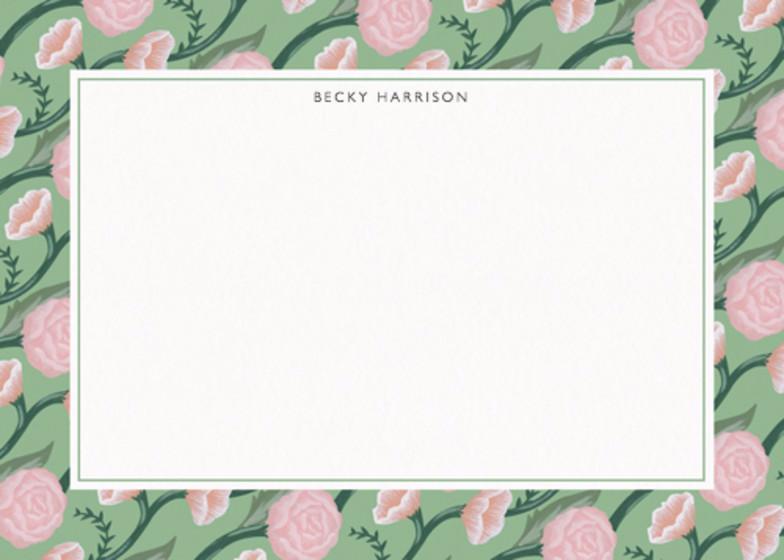 Rose   Personalised Stationery Set
