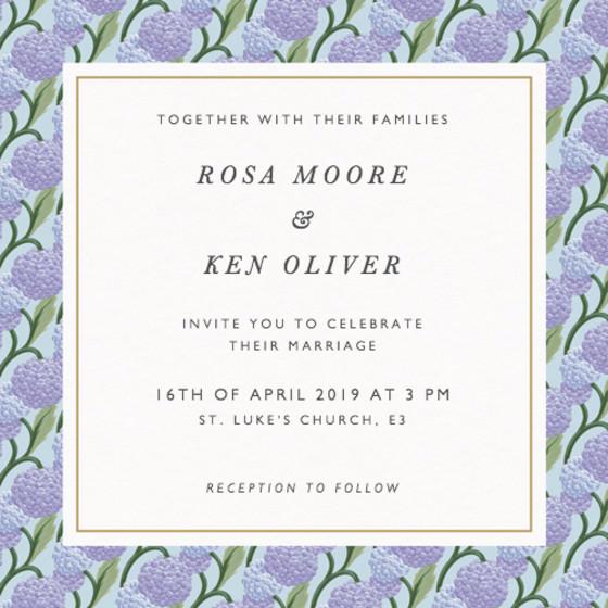 Paul | Personalised Wedding Invitation