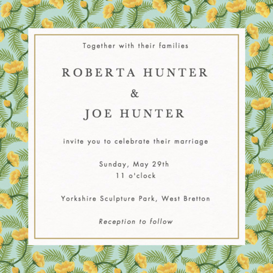 Deirdre | Personalised Wedding Invitation