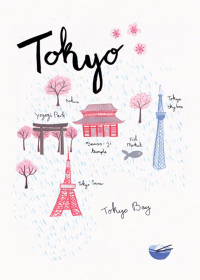 Tokyo | Personalised Good Luck Card