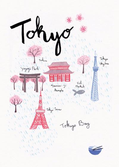 Tokyo | Personalised Good Luck Card