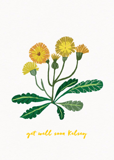 Dandelions | Personalised Greeting Card
