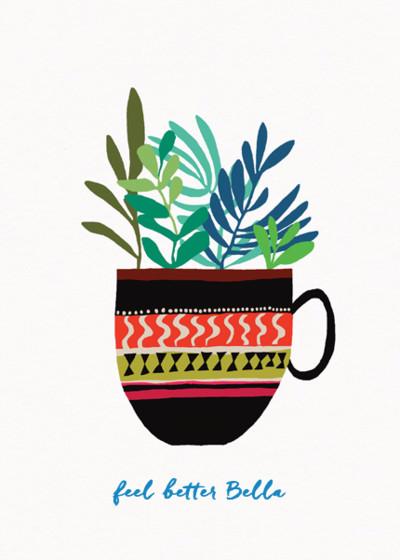 Botanical Copa | Personalised Greeting Card