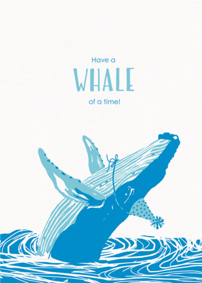 Whale Of A Time | Personalised Birthday Card