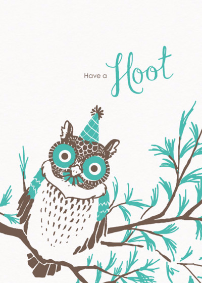 Have A Hoot | Personalised Birthday Card