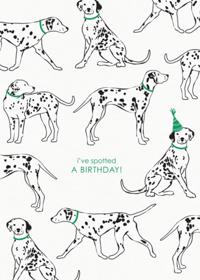 Spotted A Birthday! | Personalised Birthday Card