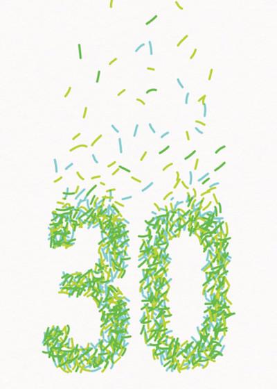 30th Sprinkles | Personalised Birthday Card