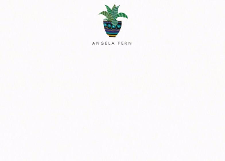 Aloe Vera Plant | Personalised Stationery Set