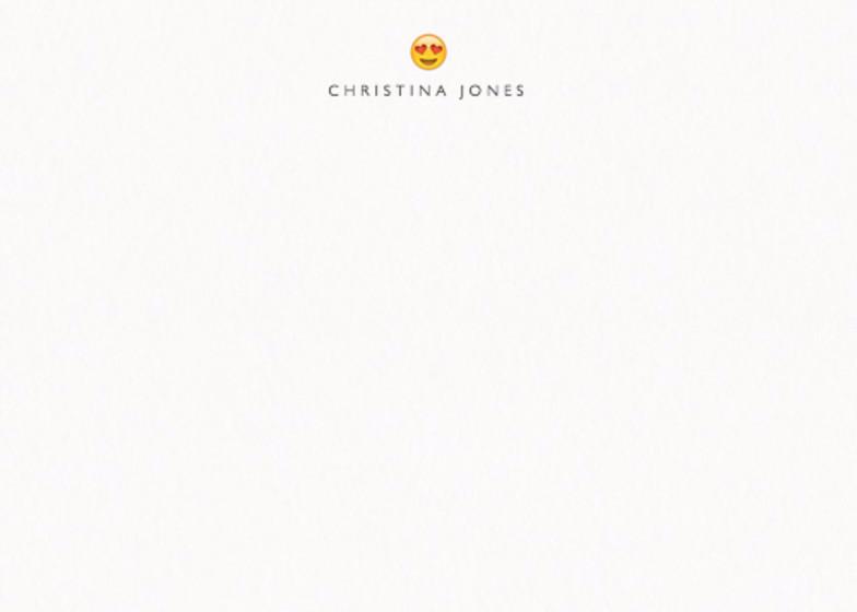 Heart Eyes | Personalised Stationery Set