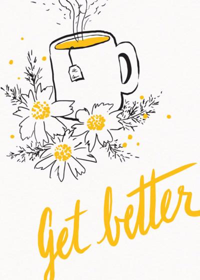 Tea & Sympathy | Personalised Greeting Card
