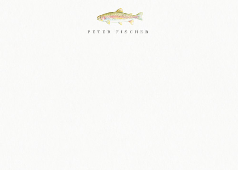 Rainbow Trout | Personalised Stationery Set