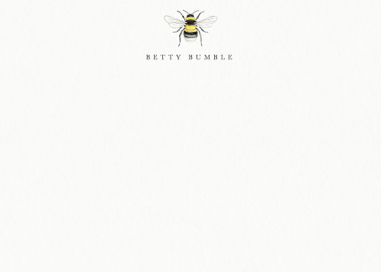 Bumble Bee | Personalised Stationery Set