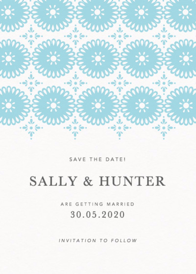 Sanibel | Personalised Save The Date