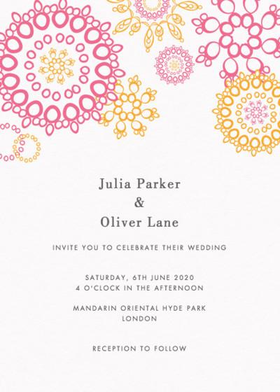 Jubilee | Personalised Wedding Invitation