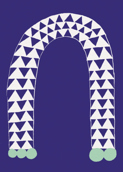 Arch | Personalised Greeting Card