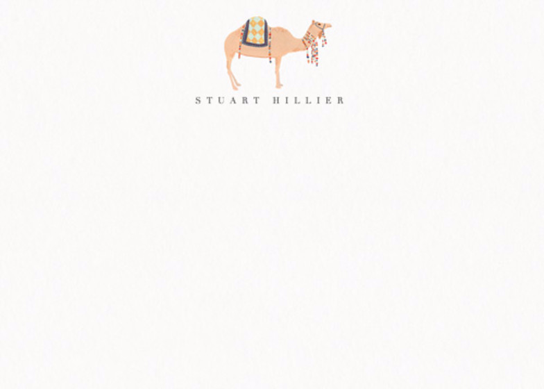 Camel | Personalised Stationery Set