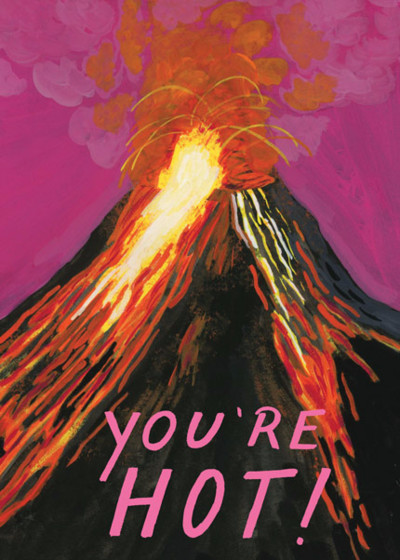 You're Hot! | Personalised Greeting Card