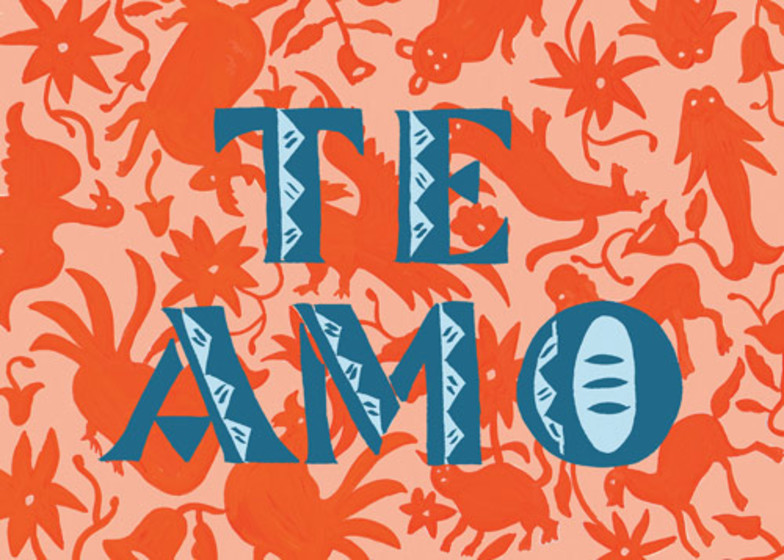 Te Amo | Personalised Greeting Card