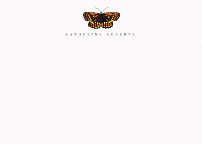 Butterfly | Personalised Stationery Set