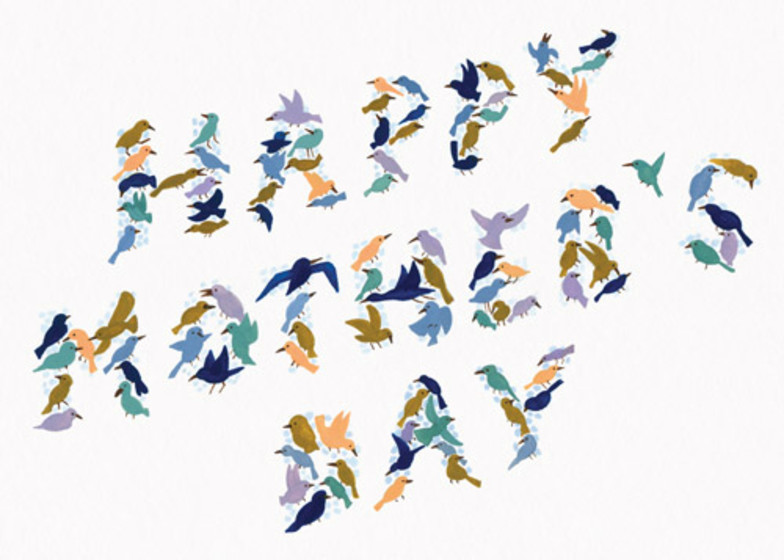 Tiny Birds | Personalised Greeting Card
