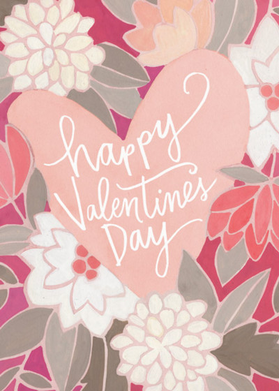 Valentine's Bouquet | Personalised Greeting Card