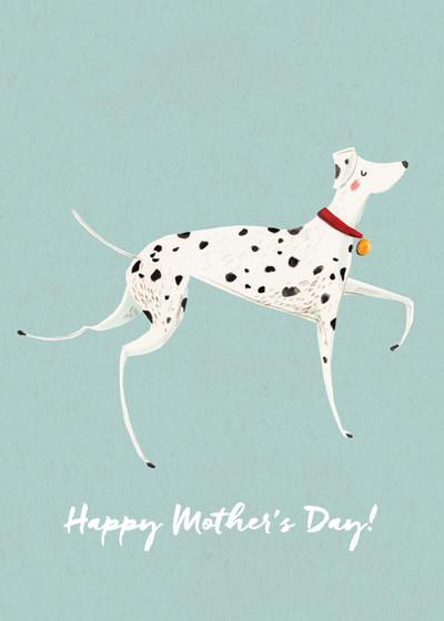 Dalmatian | Personalised Greeting Card
