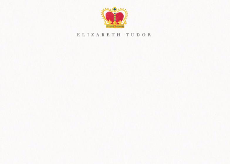 Crown | Personalised Stationery Set