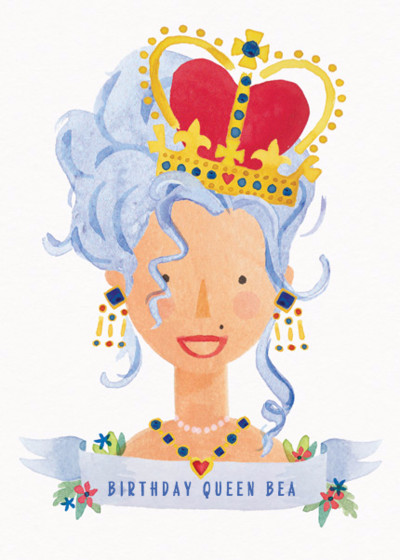 Birthday Queen | Personalised Birthday Card