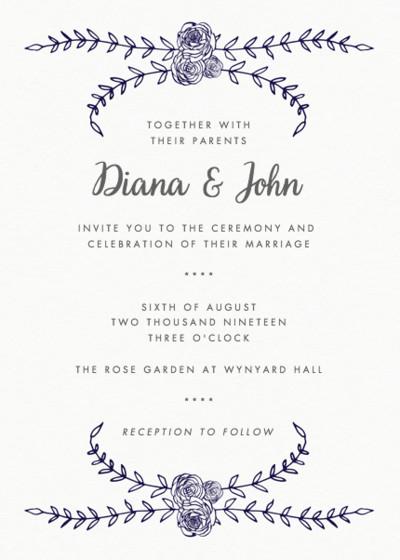 Charleston Rose | Personalised Wedding Suite