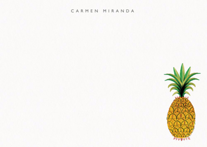 Pineapple | Personalised Stationery Set