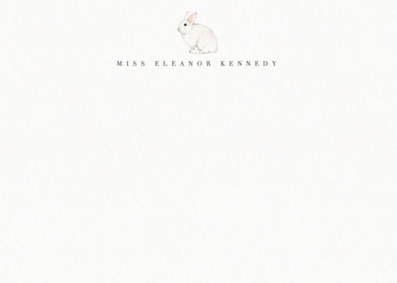 Bunny | Personalised Stationery Set