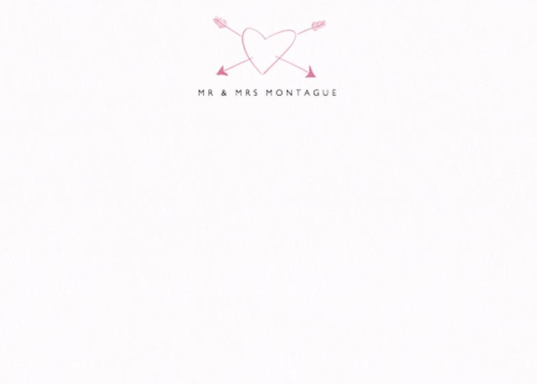 Heart | Personalised Stationery Set