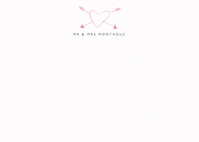 Heart | Personalised Stationery Set