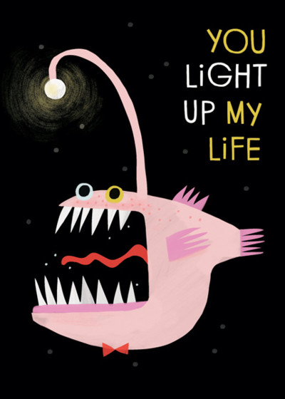 You Light Up My Life | Personalised Greeting Card
