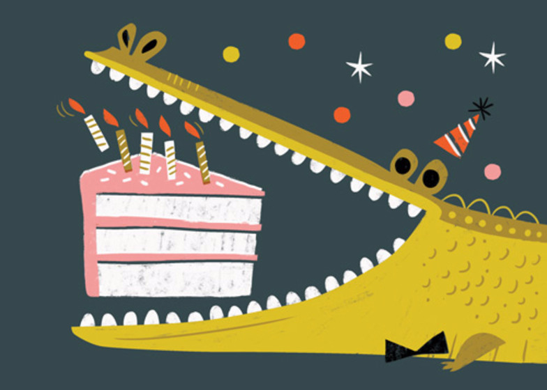 Birthday Gator | Personalised Birthday Card