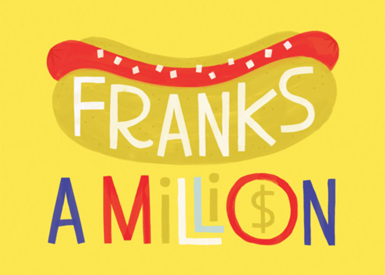 Franks A Million | Personalised Thank You Card