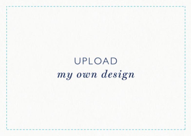 Upload My Own Design - Landscape | Personalised Invitation