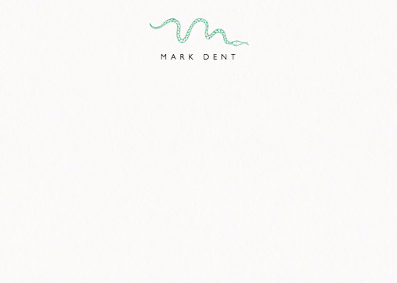 Snake | Personalised Stationery Set