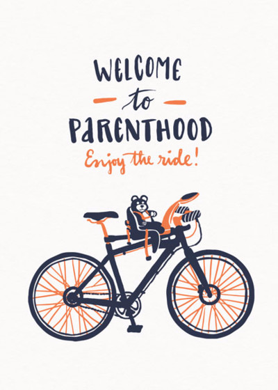 Welcome To Parenthood | Personalised Congratulations Card