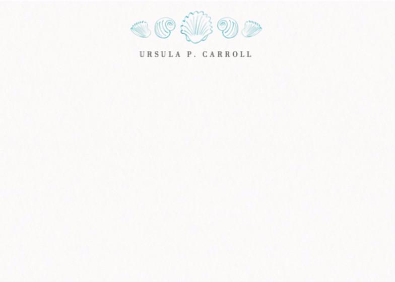 Shells | Personalised Stationery Set