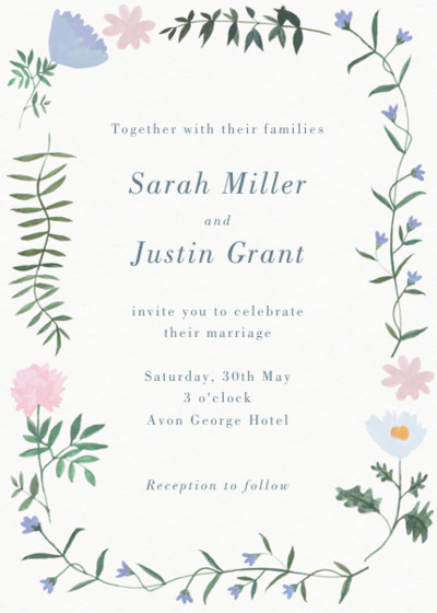 Helena | Personalised Wedding Invitation