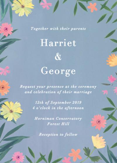 Ophelia | Personalised Wedding Invitation