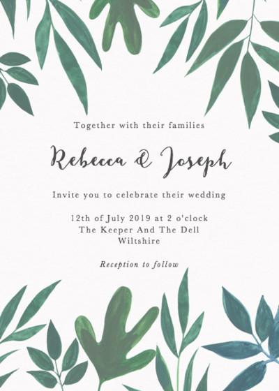 Cordelia | Personalised Wedding Invitation