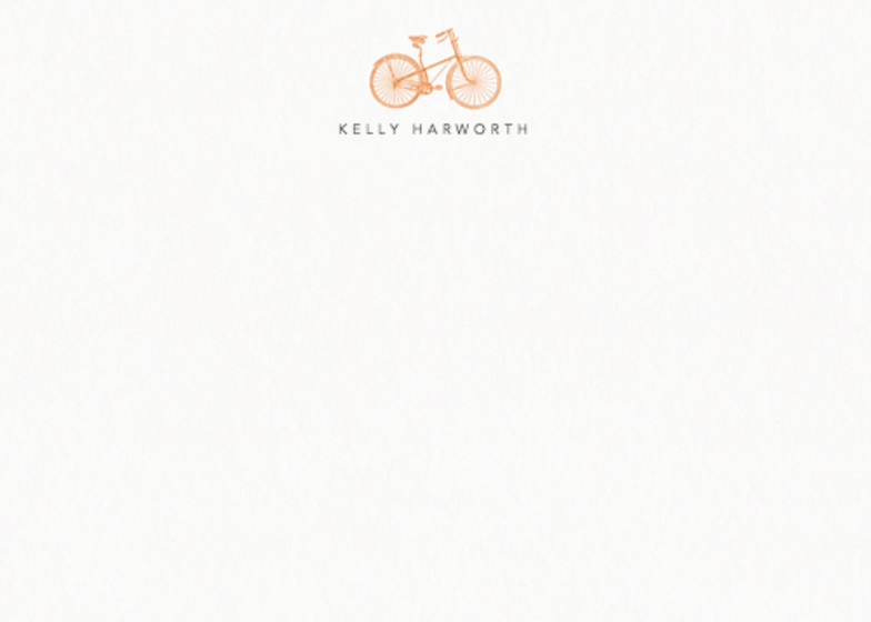 Bicyclette | Personalised Stationery Set