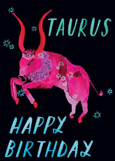 Taurus | Personalised Birthday Card