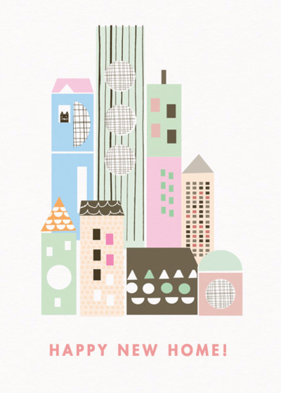 Cityscape | Personalised Greeting Card
